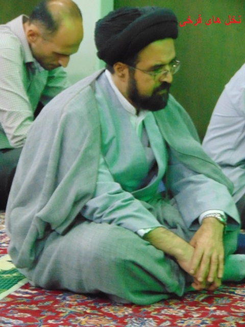 با ستارگان آسمان علم و دانش شهر فرخی (6) حجه الاسلام والمسلمین دکتر سید حسن قاضوی htu1 dsc06007