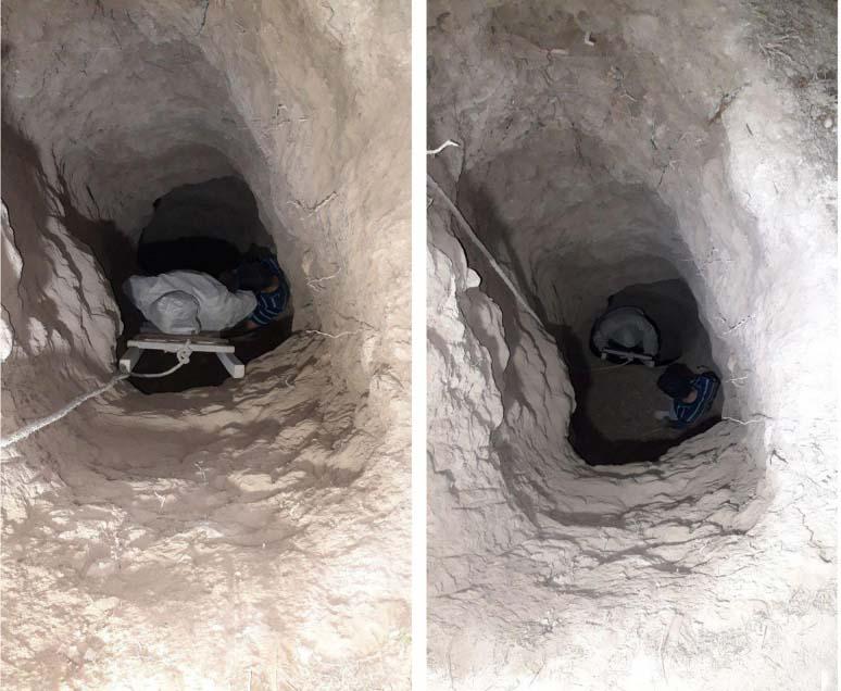 دستگیری سه حفار غیرمجاز و کشف دو فلزیاب در شهرستان گرگان