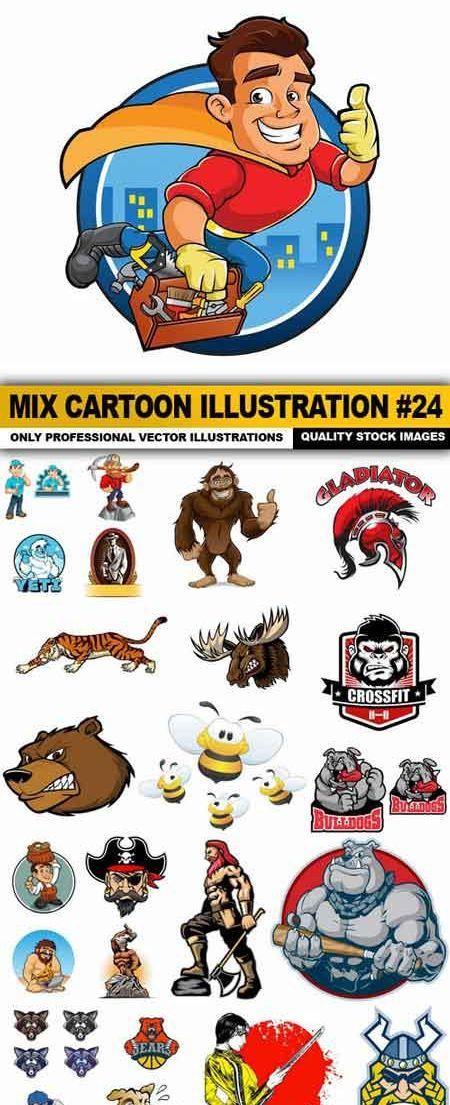 [عکس: hvpi_1461916726_mix-cartoon-illustration...vector.jpg]