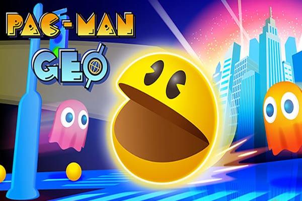 بازی Pac-Man Geo