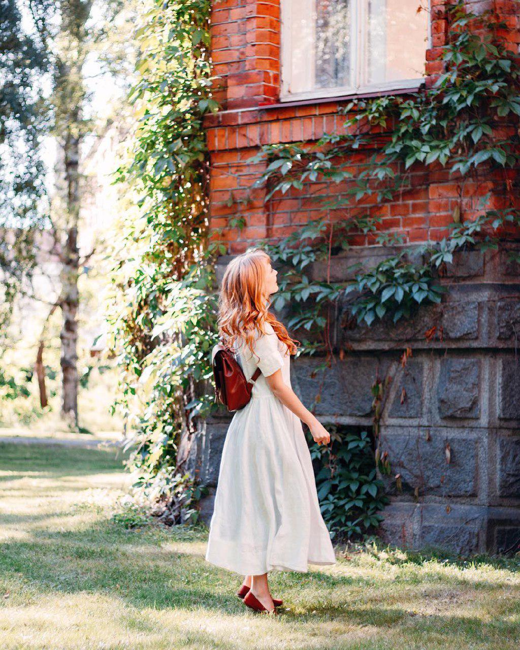 عکس دختر زیبا در طبیعت