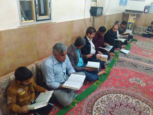 برگزاری حلقه صالحین شهید پراینده در مسجد امام خمینی(ره)