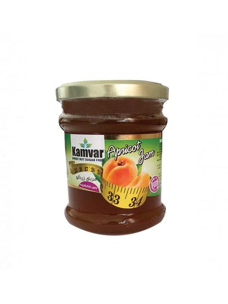 مربای زردآلو بدون شکر و رژیمی کامور