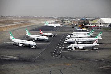 سهم فرودگاه مهرآباد در پرواز های خرداد ماه به 35 درصد رسید
