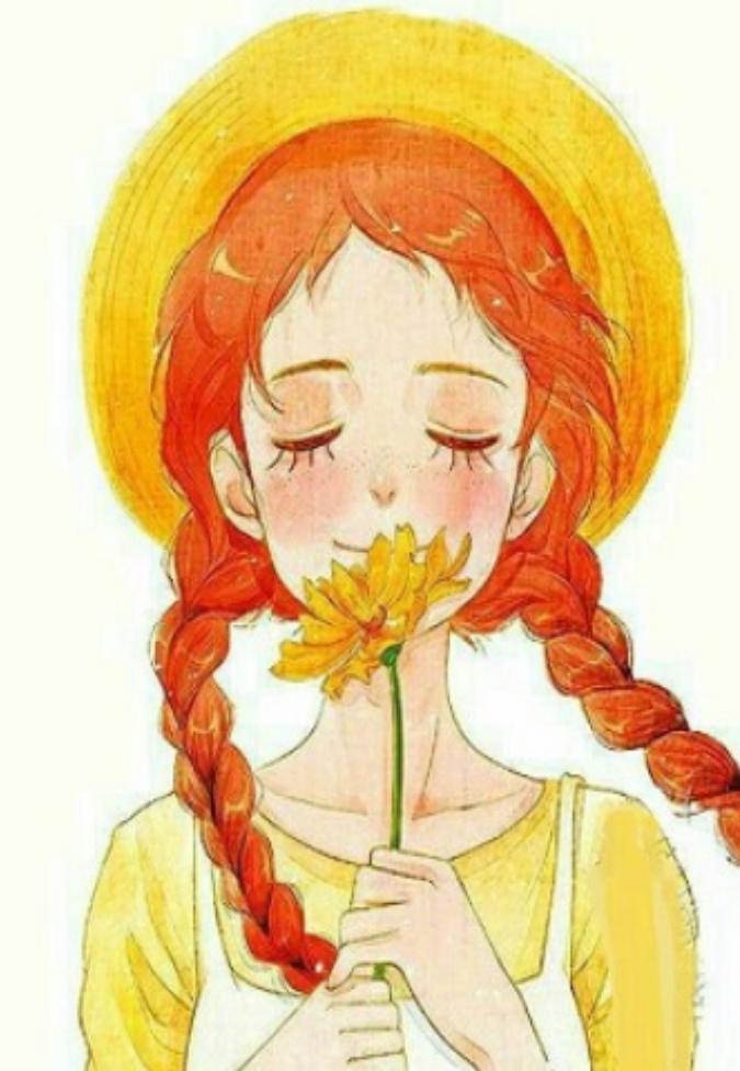 نقاشی زیبا از دختر