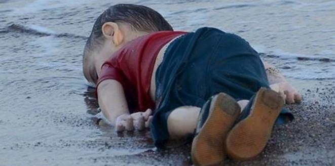 الطفل السوری الغریق ایلان الکردی