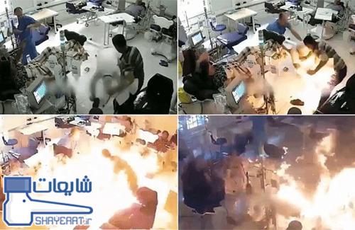 کلیپ به آتش کشیدن بیماران بخش دیالیز بیمارستان اهواز ! / شایعه ۰۵۷۶
