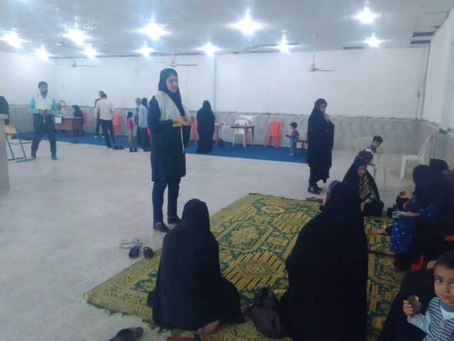 طرح رایگان جهادگران سلامت در مسجد امام خمینی(ره)
