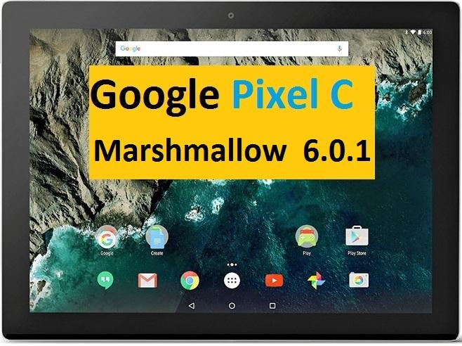 اندروید 6 بر روی تبلت گوگل مدل Pixel C