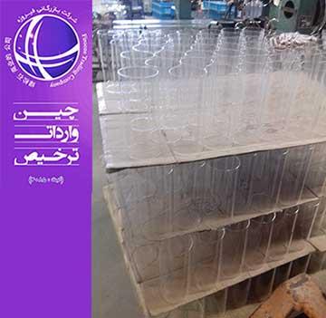 واردات حباب شیشه ای از چین