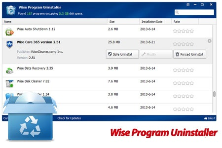 wise program uninstaller cover