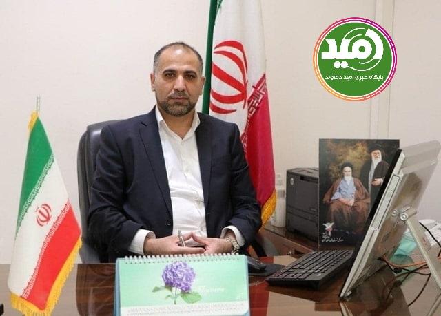 معاون سیاسی انتظامی فرمانداری شهرستان دماوند منصوب شد