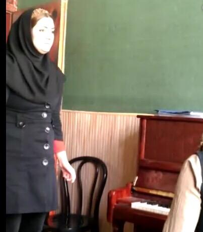 مرجان کاشف - سلفژ ، آواز کلاسیک