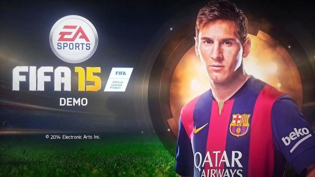دانلود دمو بازی FIFA 15 برای PC