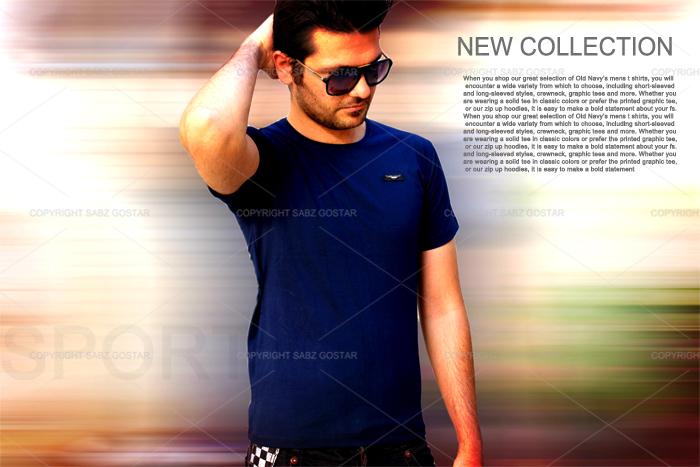 مدل تیشرت مردانه ی new collection