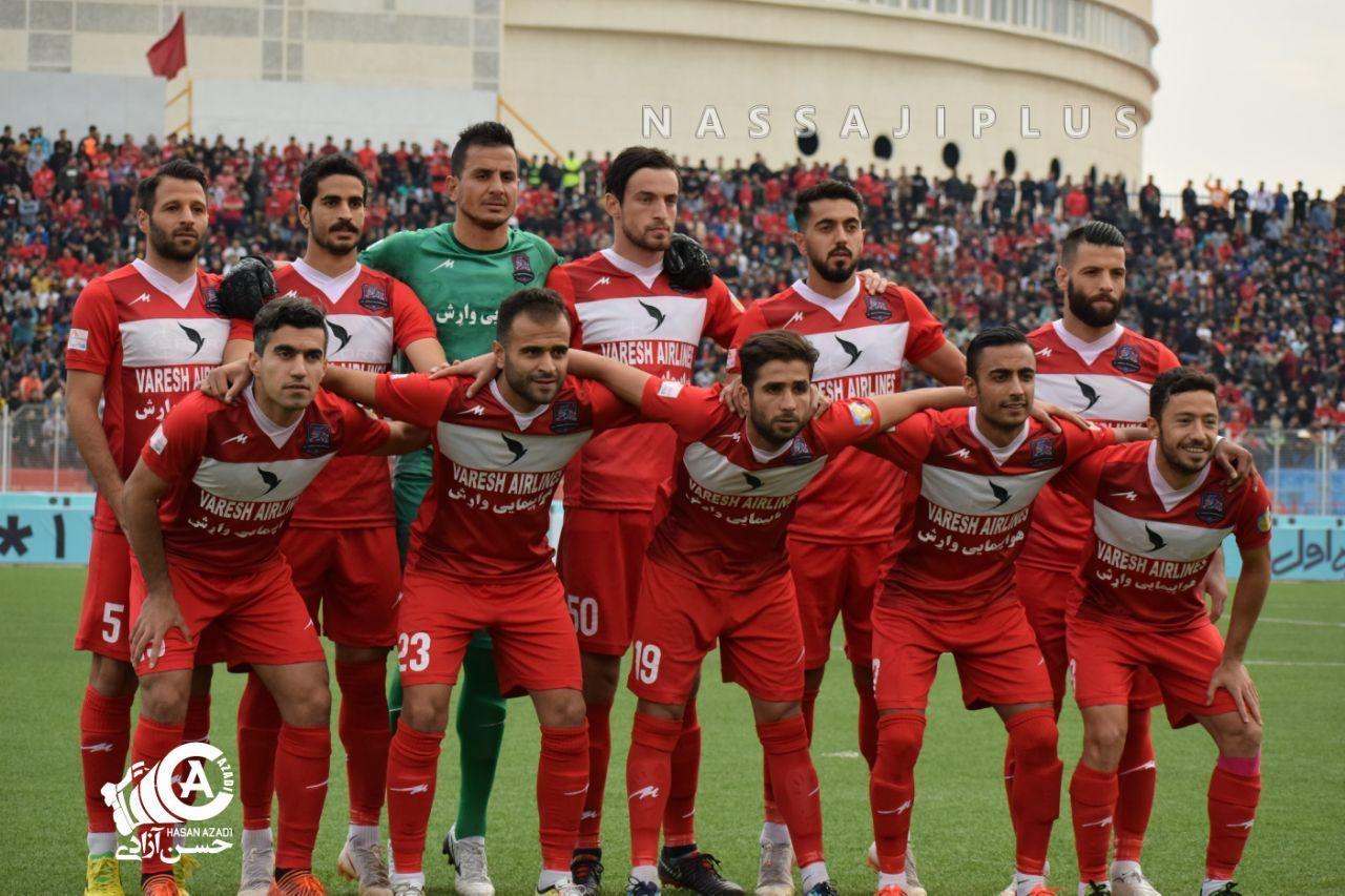 گزارش تصویری؛ گلچینی از بهترین عکسهای بازی نساجی و استقلال خوزستان