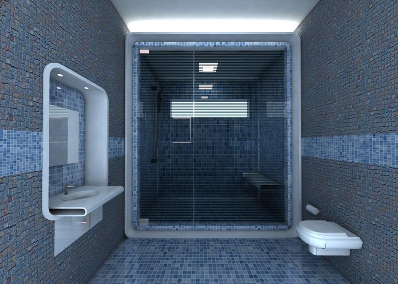 نمونه طرح های سرویس بهداشتی و حمام (بخش اول)