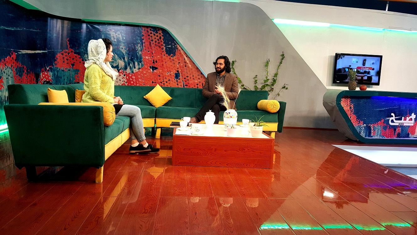 احمد محمود امپراطور شاعر در تلویزیون جهانی آرزو