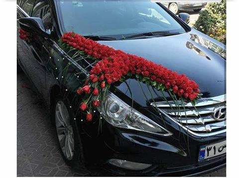 [تصویر: ماشین عروس]
