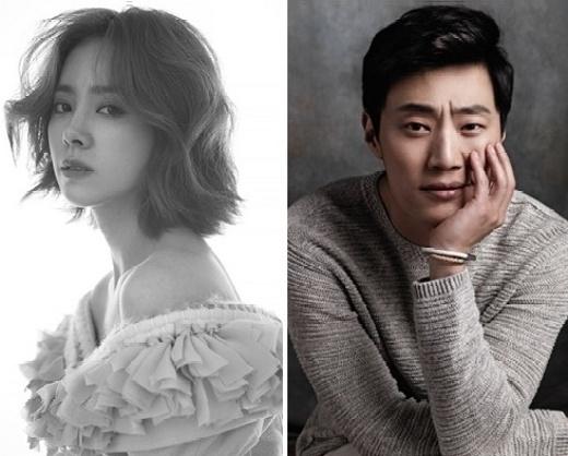 Han ji min و lee hee joon در کنار هم برای فیلم سینمایی Mr Baek .