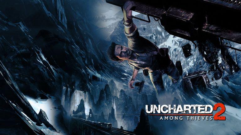 jiyt uncharted 2 hanging on train (savisgame.com)