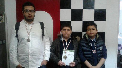 مسابقات ی شطرنج به مناسبت هفته وحدت در باشگاه ذهن برتر