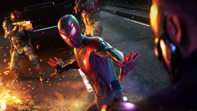 Insomniac Games SPIDER MAN