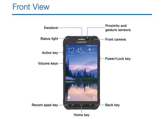 عکس و مشخصات Galaxy S6 Active لو رفت
