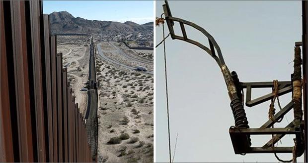 قاچاق مواد مخدر با منجنیق در مرزهای مکزیک و آمریکا