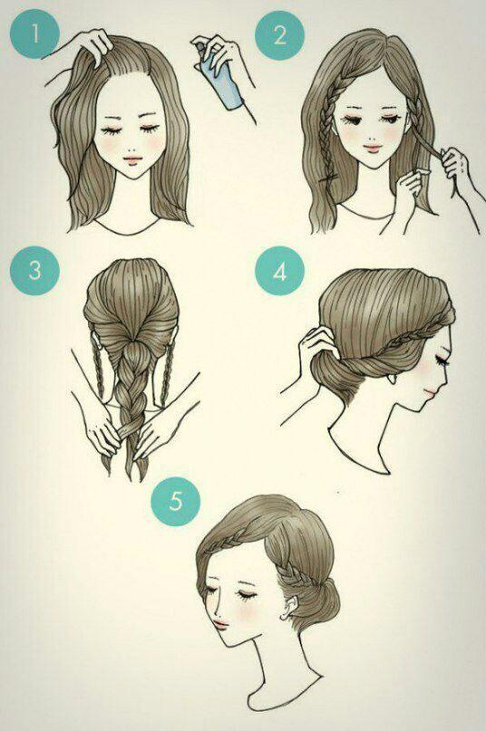 [تصویر: روشهای درست کردن موهای خودمون]
