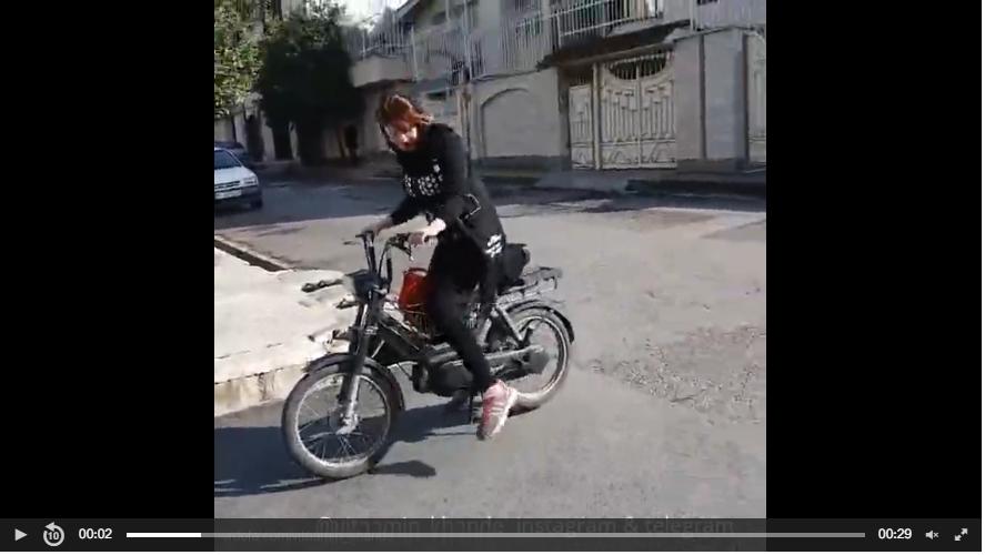 دختران موتور سوار ایرانی