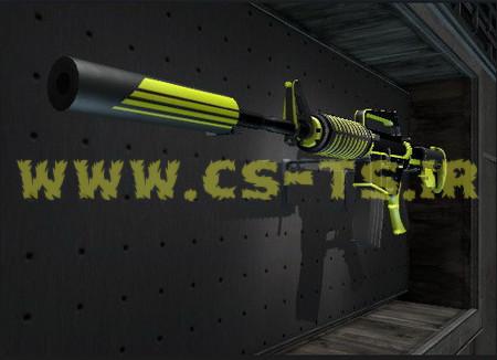 دانلود اسکین زیبای اسلحه ای m4a1s_venomous برای کانتر گلوبال افیس