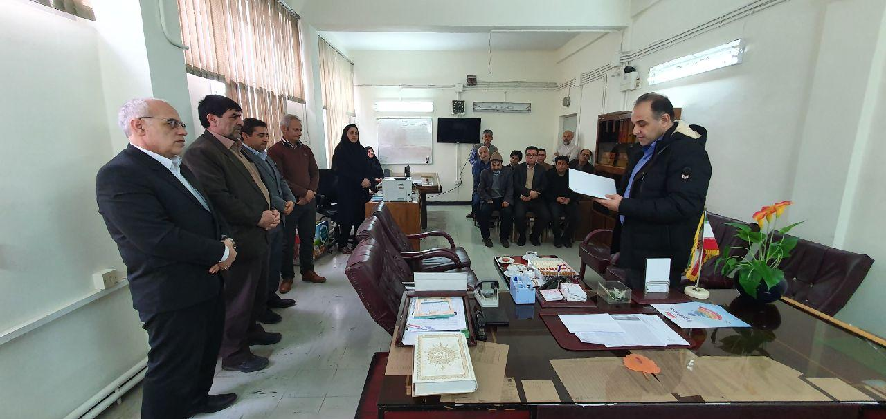 انتصاب رئیس جدید اداره مخابرات علی آباد کتول
