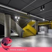 انتخاب ترکیب رنگ سال 2021 در فضای یک ساختمان