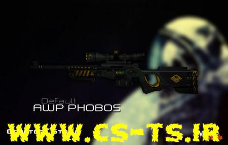 دانلود اسکین زیبای اسلحه ای default_awp_phobos_3eff7 برای کانتر1.6