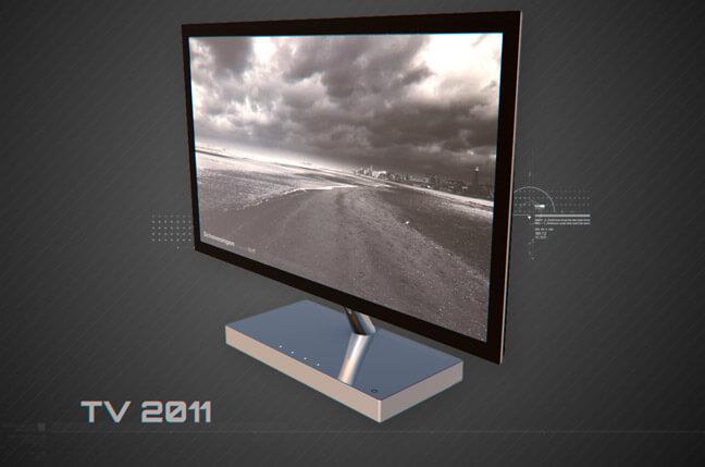 kf1g tv 2011 - مجموعه مدل سه بعدی تجهیزات الکترونیک و تکنولوژی C4D