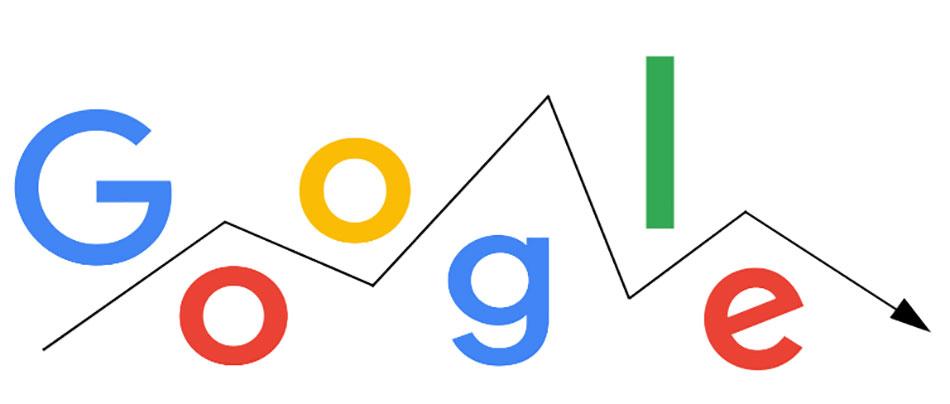 کاهش رتبه در گوگل
