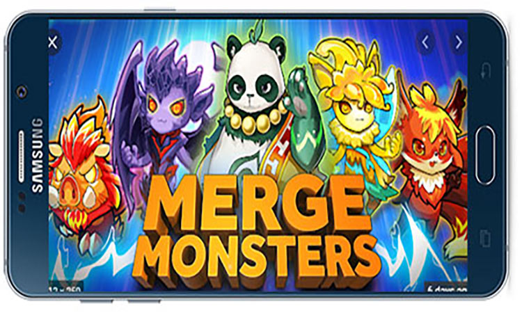 Merge monsters