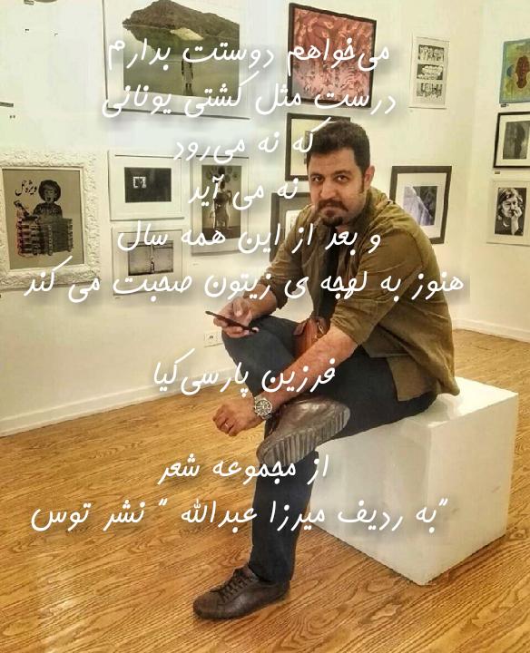 فرزین پارسی کیا.ادبیات.شعر.عکس نوشته.1396