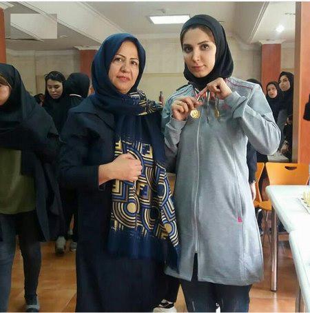 مونا سعید پور    قهرمان   مسابقات دانشجویان  دانشگاه  آزاد
