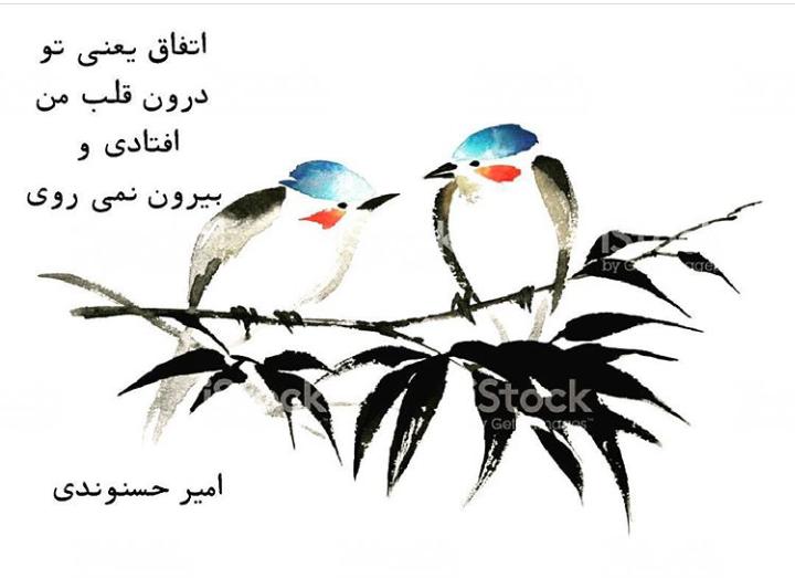 امیرحسنوندی.عکس نوشته.ادبیات.شعر.قلم سیاه.1396