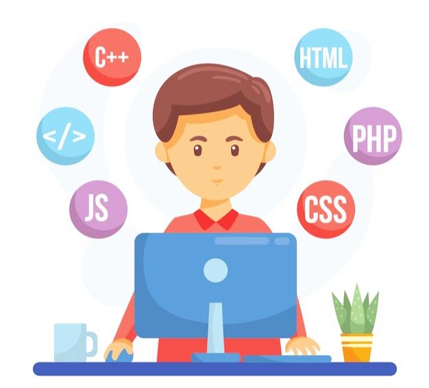 انواع زبان های برنامه نویسی در طراحی سایت