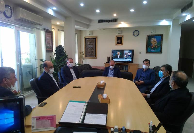 دیدار استاندار گلستان با معاون بنیاد مسکن کشور