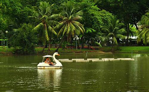 پارک لومپینی بانکوک از جاذبه های گردشگری بانکوک