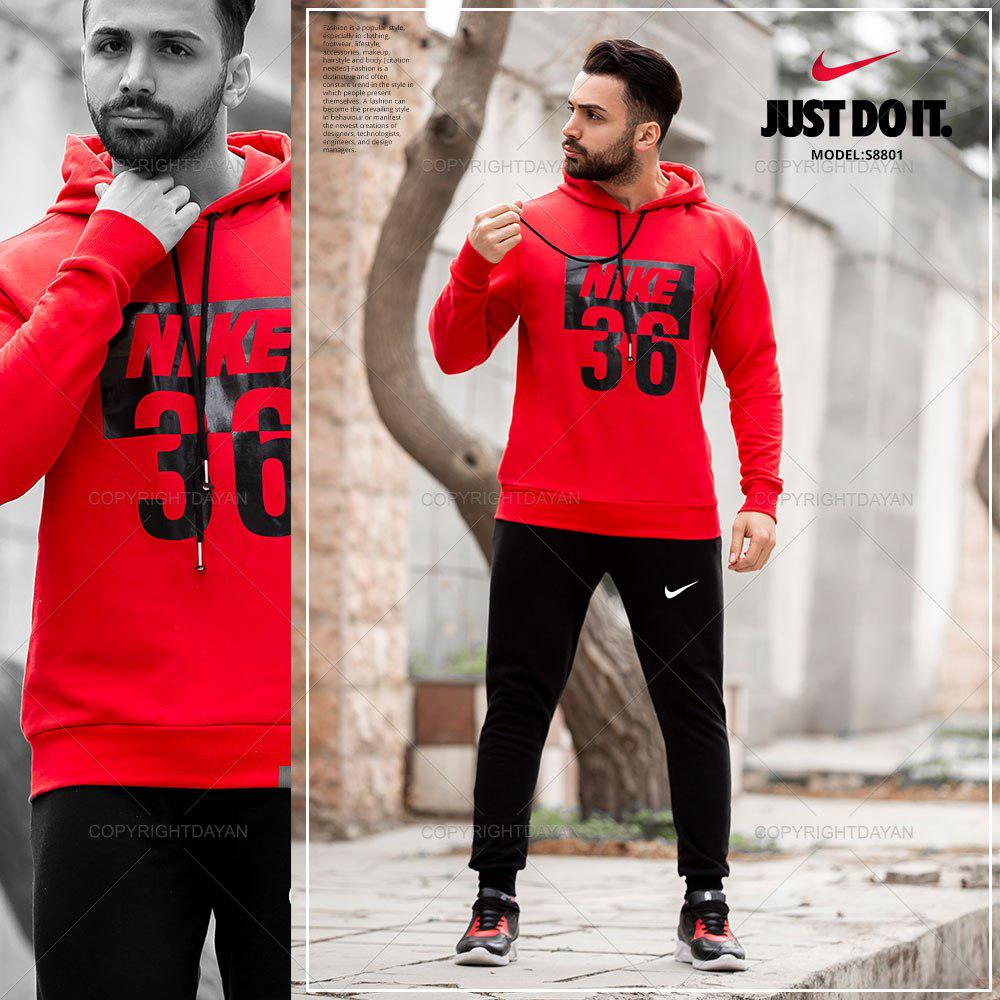 ست سویشرت و شلوار مردانه Nike مدل S8801