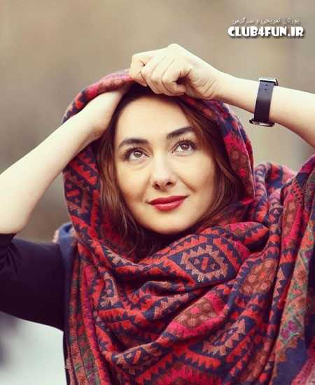 عکس متفاوت و جدید هانیه توسلی