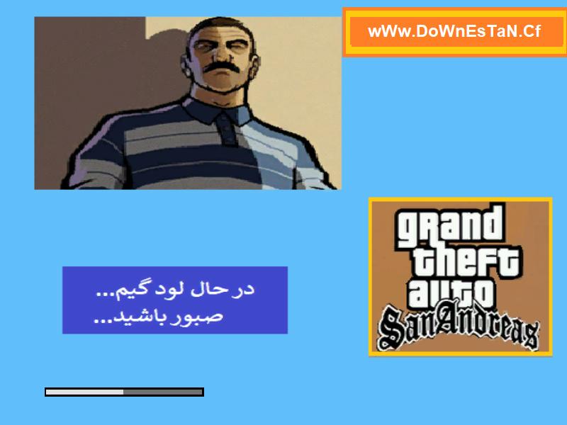 دانلود لودینگ اسکرین جدید و مدرن برای بازی Gta Sa