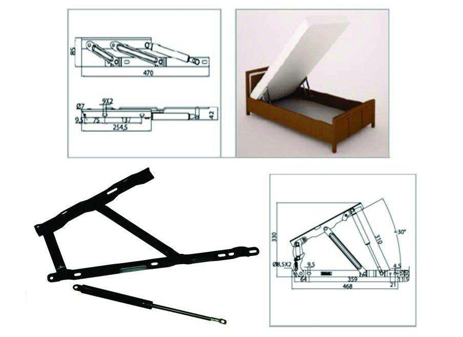 مکانیزم قیچی باکس تخت