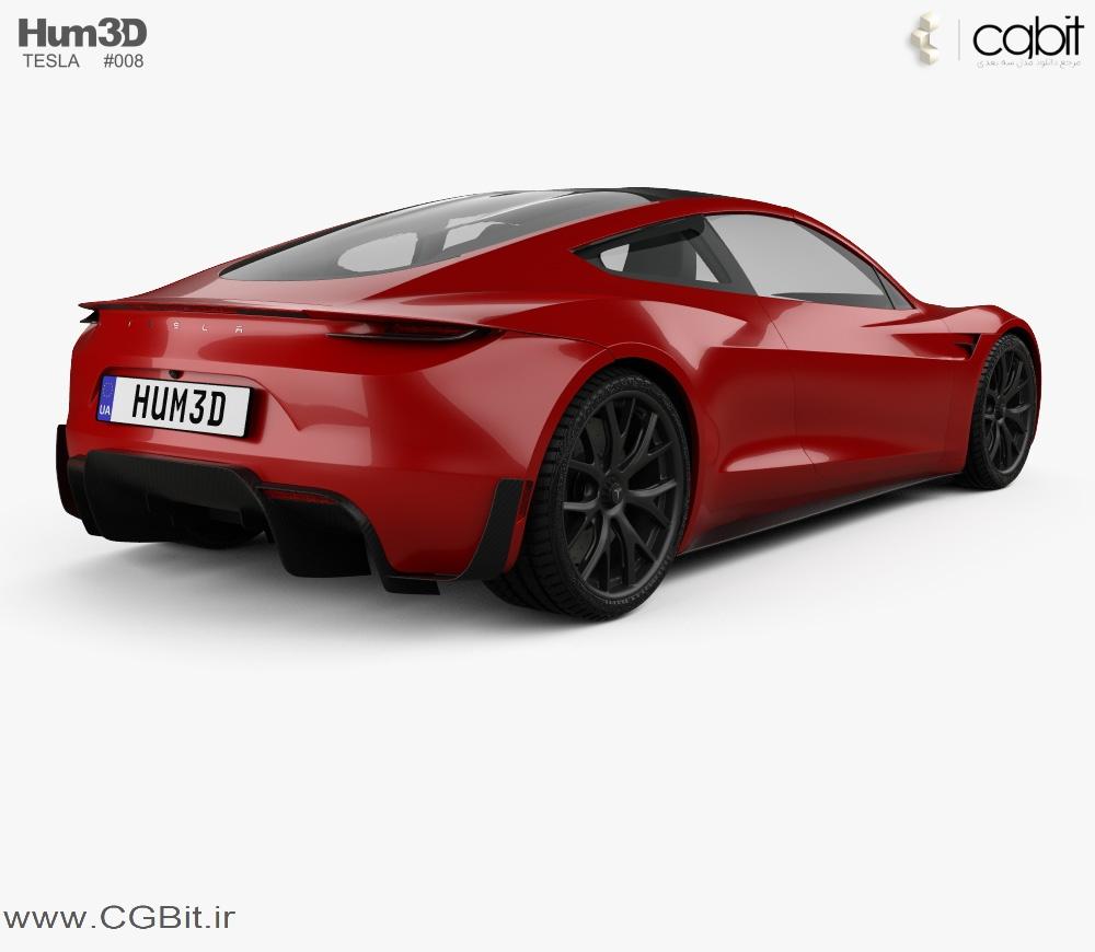 l5b5 tesla roadster mk2 2020 1000 0002 - کالکشن مدل سه بعدی ماشین 2018 - vol2