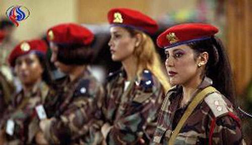 محافظ زن قذافی